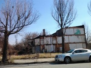 house crumbling
